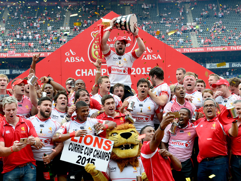Lions 2015 Currie Cup