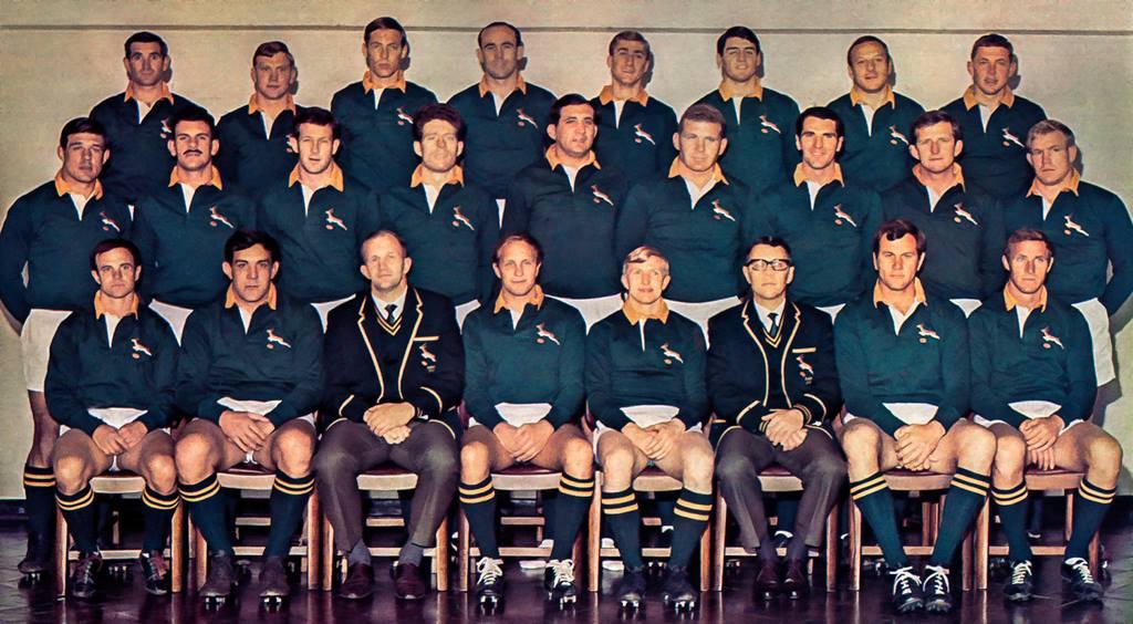 Springboks vs France 1968